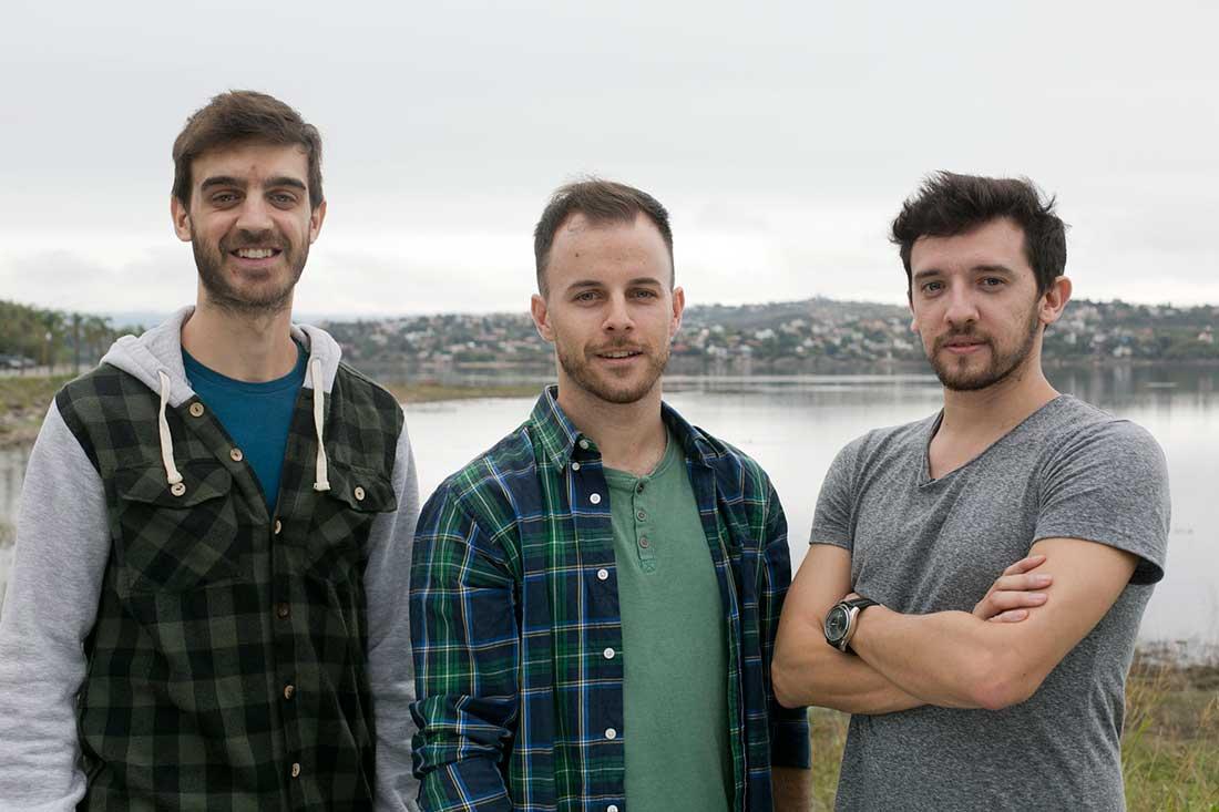 Luciano Cecaloni (CDO), Gustavo Becker (CTO) y Franco Páez Lauricella (CEO), los hacedores en Box Synergy.