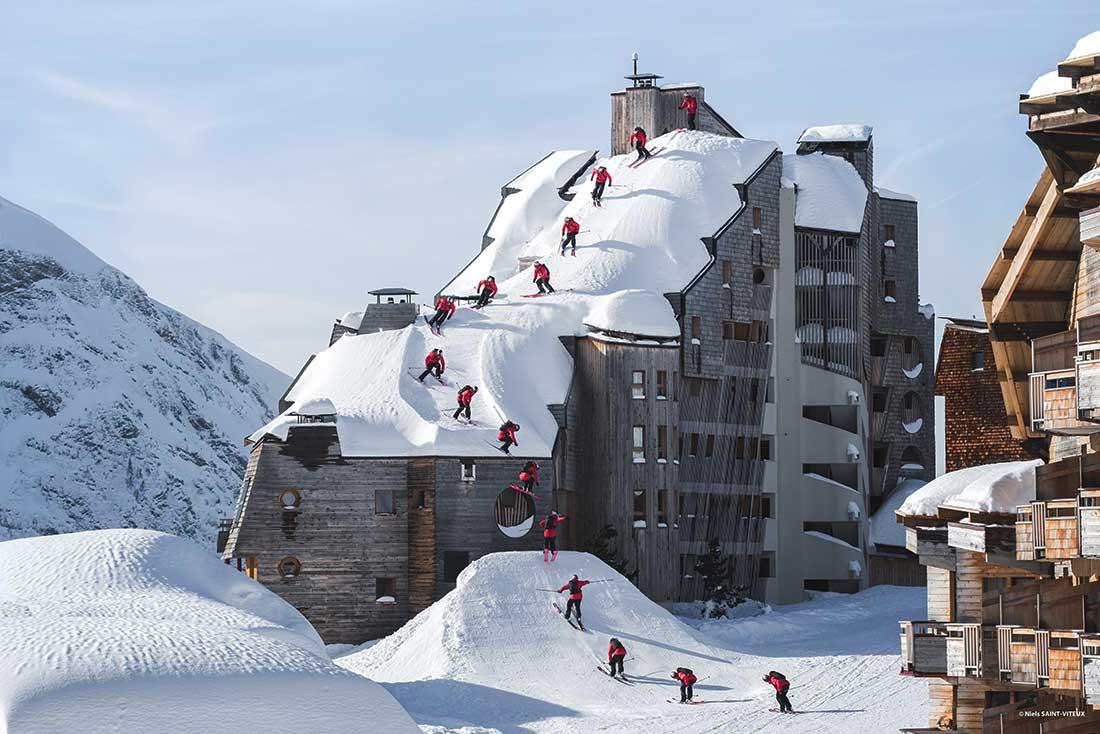 Good Morning, impresionante película de ski de Francia, en el Banff Festival.
