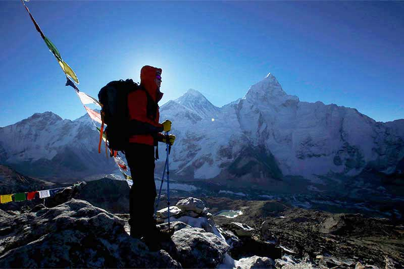 Everest tomado desde Kala Patthar, en el distrito de Solukhumbu, Nepal. (PH Reuters)