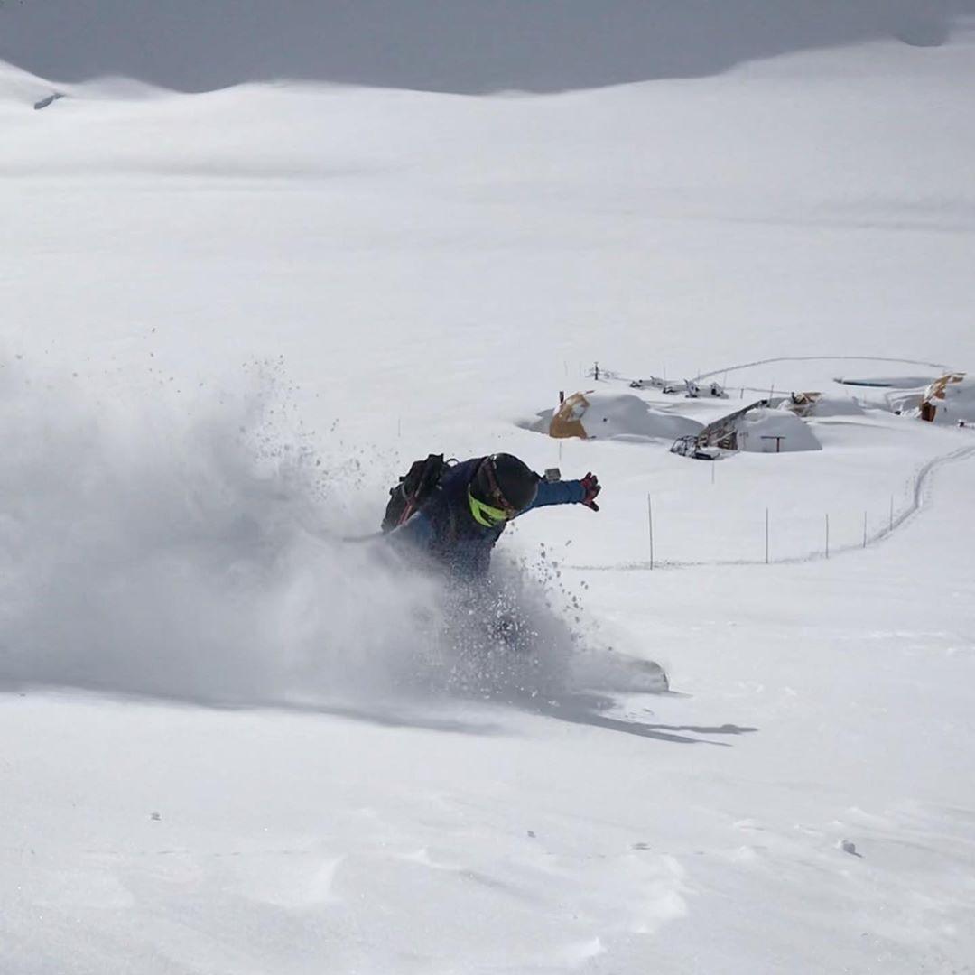 Las condiciones de nieve en la zona son inmejorables y prometedoras. (Ph Federico Huajardo - El Azufre)