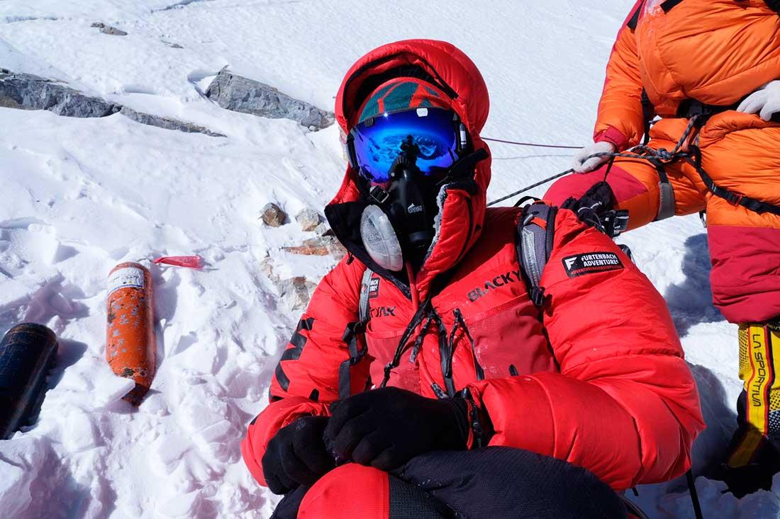 Una empresa encamina un proyecto de seguridad en Everest. (Ph @furtenbachadventures)