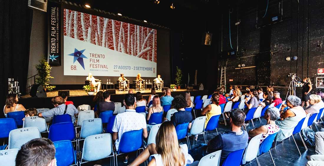 Con estricto protocolo se llevó a cabo la 68 edición del Festival de Cine de Trento, Italia.
