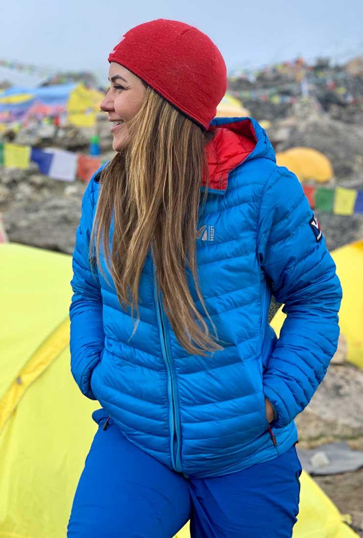 En el campo base de Kanchenjunga, tercer monte más alto del planeta.