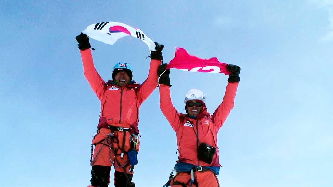 """Imagen del film coreano """"Alpinist. Confession of a Cameraman"""", premiado por el Jurado."""