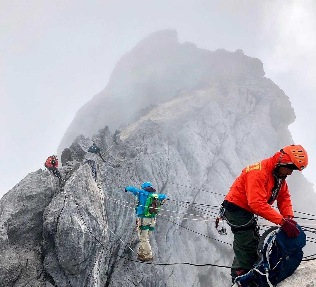 Trabajoso transcurso en la Pirámide Carstensz, en Indonesia, representante oceánica en las Seven Summits. (Ph Tomás Ceppi)