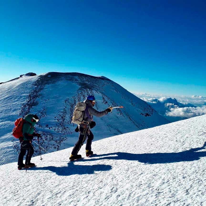 A pocos pasos de la cumbre de Elbrus, la Seven Summits de Europa. (Ph Tomás Ceppi)