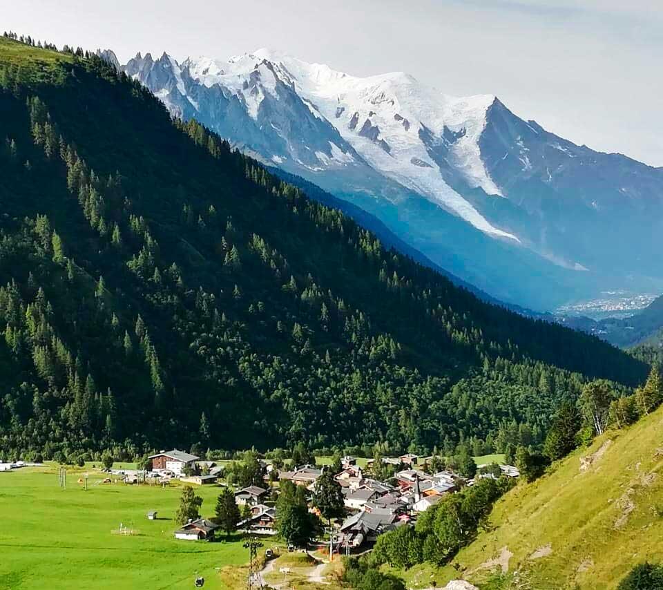 El majestuoso Mont Blanc, merece un espacio en las Seven Summits. (Ph Gonzalo Dell'Agnola)