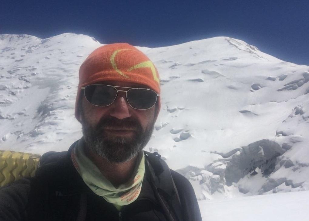 El guía ruso Alex Barakov, director y alma mater de 7 Summits Club.