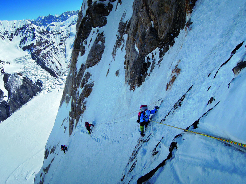 Remoto y misterioso, el K2 en invierno no ha sido hoyado jamás. (Ph 7 Summits Club)
