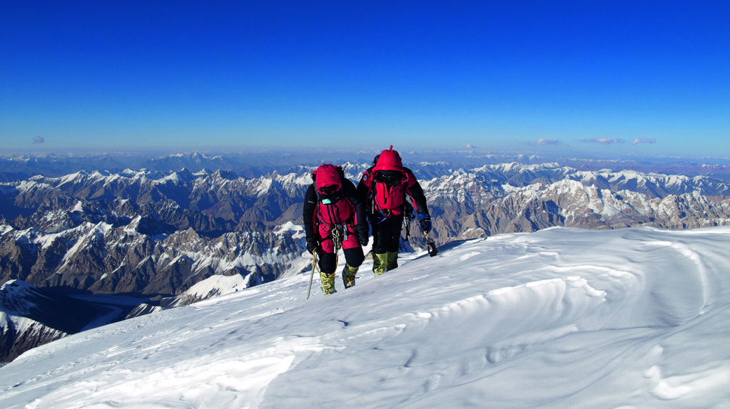 K2 en invierno, asignatura pendiente del alpinismo de elite. (Ph 7 Summits Club)
