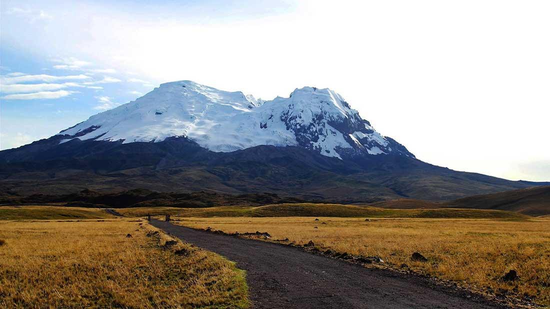 Volcán Antisana, en la Cordillera Real de Ecuador.