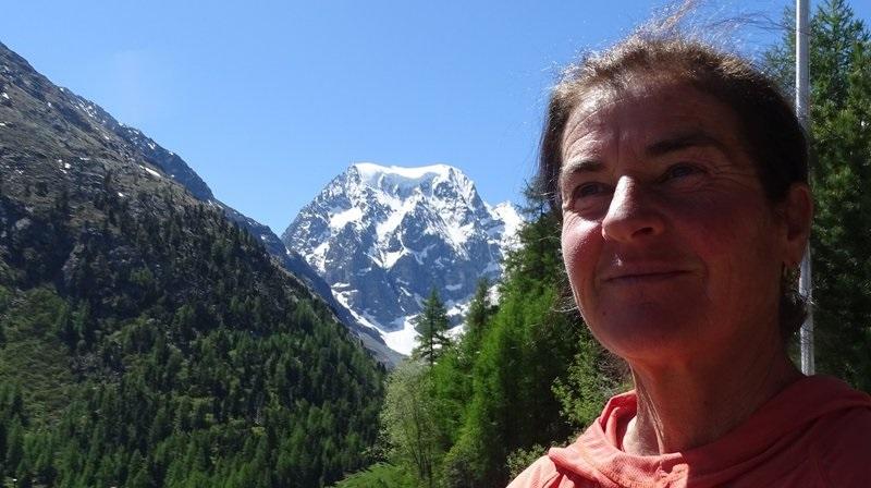 La ochomilista suiza Josette Valloton, una de las dos mujeres de la expedición de Seven Summit al K2 en invierno.