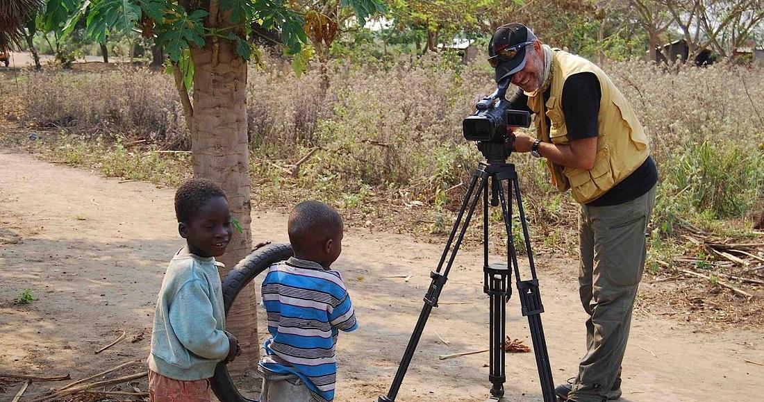 Otra de las facetas de Javier Campos, como documentalista, en este caso en África.