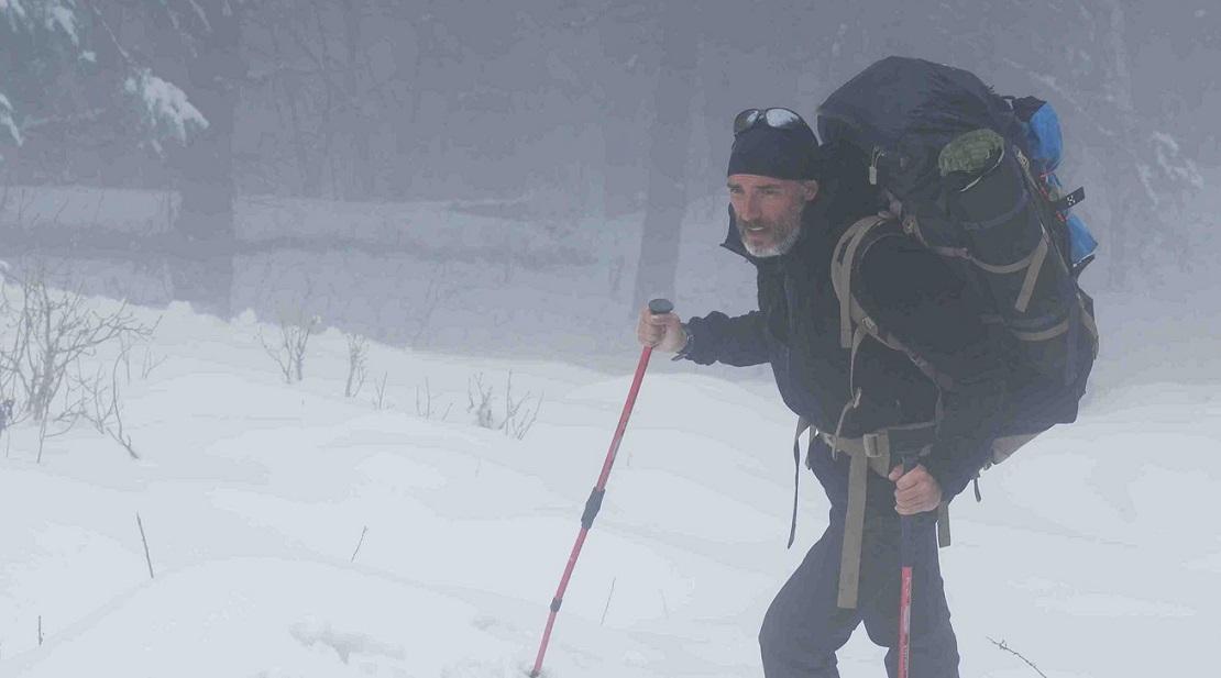 """Desafíos en solitario y en invierno son """"especialidad"""" en la carrera de Javier Campos."""
