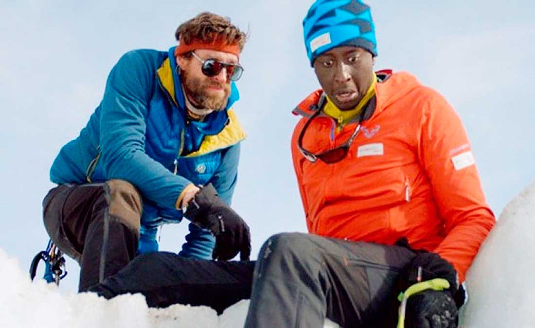 """L'Ascension"" relata el singular ascenso de Nadir Dendoune al Everest. Ahmed Sylla es el protagonista.."