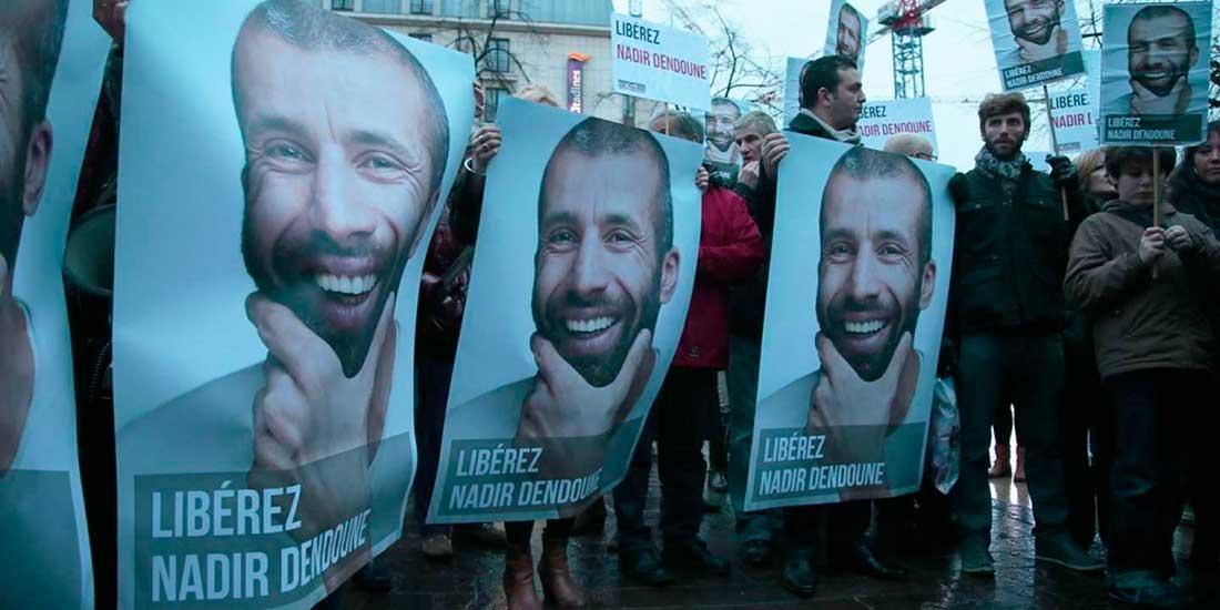Como corresponsal de guerra, fue arrestado en Bagdad en 2013. En Francia reclamaron su liberación.