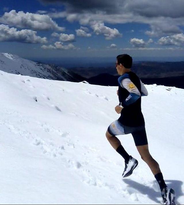 La ultra maratón es una de las especialidades de Federico Mariel y su carrera puede seguirse en @fedemariell.
