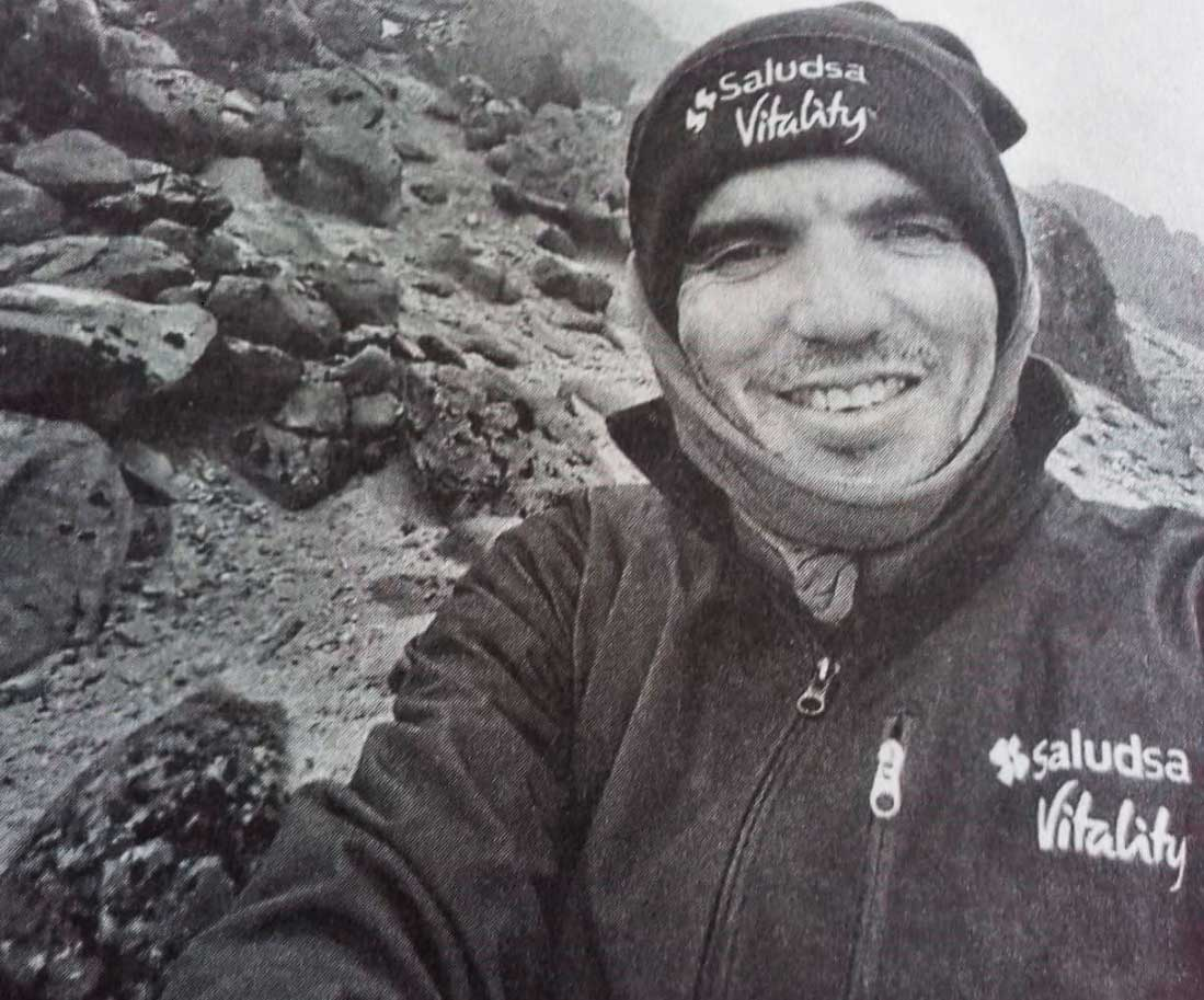 Santiago Quintero, uno de los ecuatorianos que se convirtieron en guías profesionales con certificación internacional.