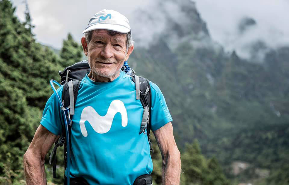 """""""Las personas mayores seguimos teniendo muchas ilusiones y muchas ganas de vivir"""" dice Carlos Soria."""