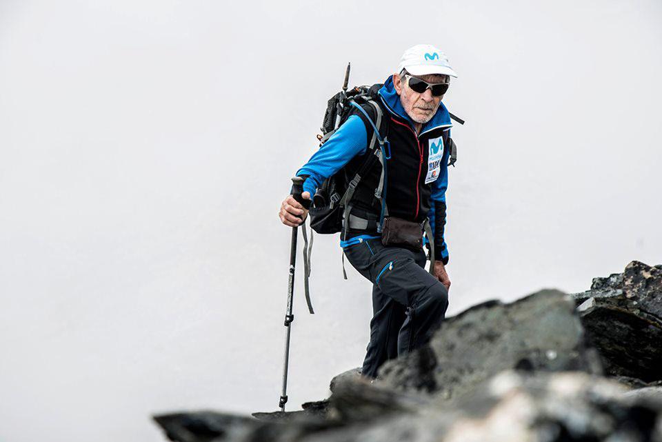 """Carlos Soria: """"Nunca me han tenido que sacar de ninguna montaña""""."""