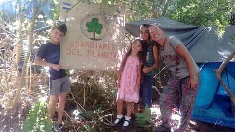 Valeria Olivella es la creadora y gestora del proyecto Guardianes del Planeta.