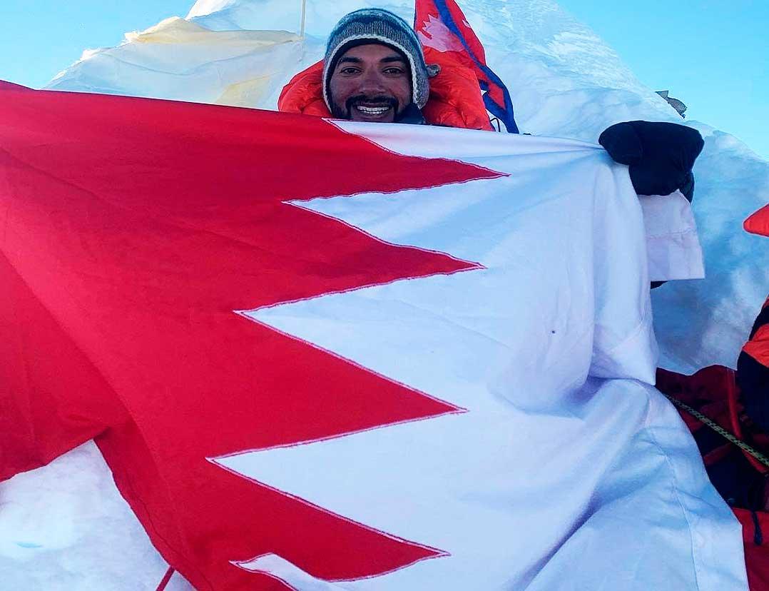 Logrado el año pasado el Manaslú (foto), el equipo de Bahrein inició 2021 con el objetivo más alto del planeta.