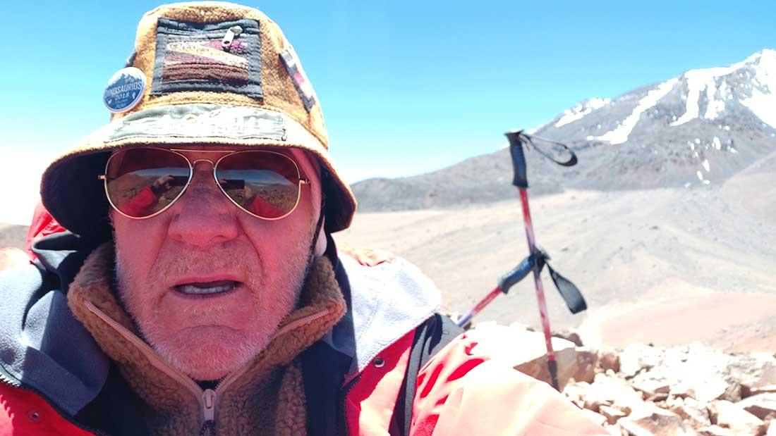 A los 73, Sergio Cerutti sueña con nuevas cumbres.