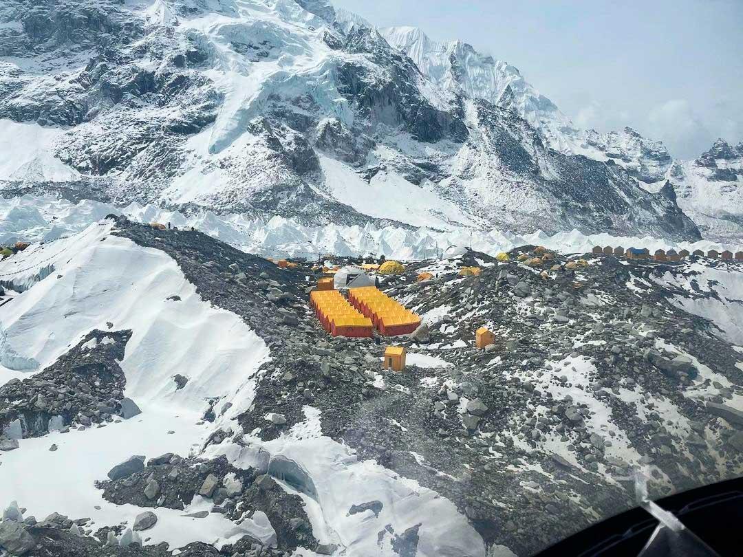 Campo base de Everest, el monte más alto del mundo (Ph IG @furtenbachadventures)