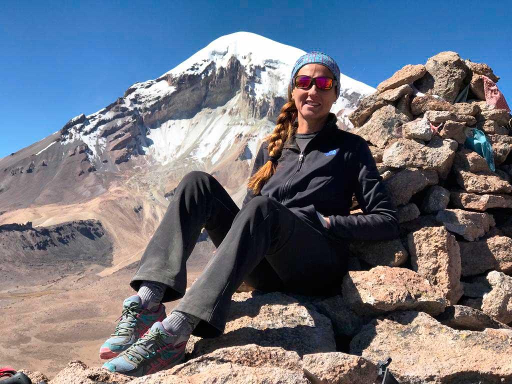 """""""La curiosidad y mi amor por la cultura inca me llevaron a investigar y apasionarme por las montañas sagradas de Argentina""""."""