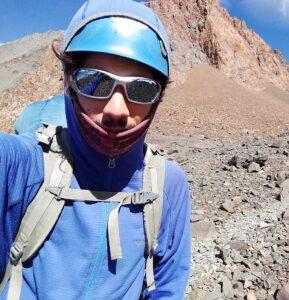 Juan Cruz Rodríguez, guía de trekking.