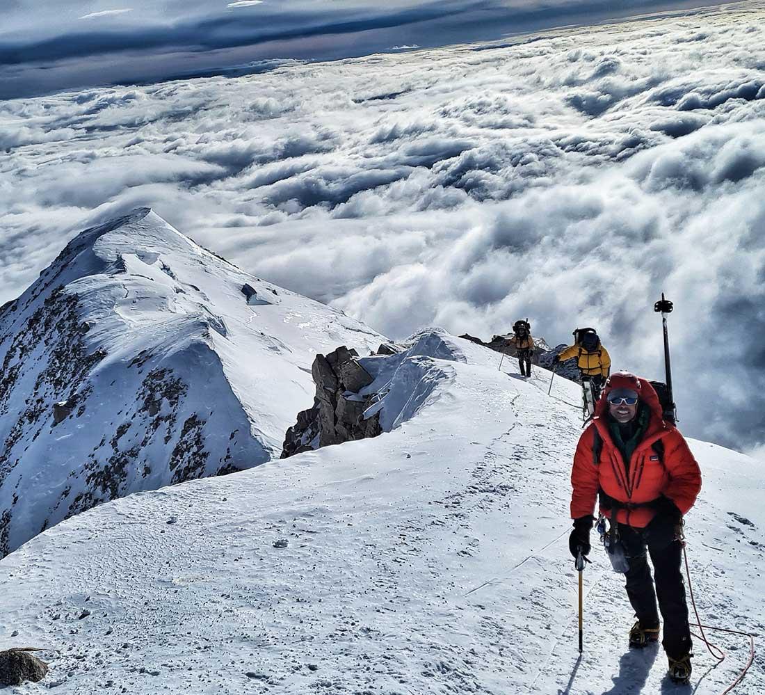 La expedición a Denali no ocupa menos de dos semanas.
