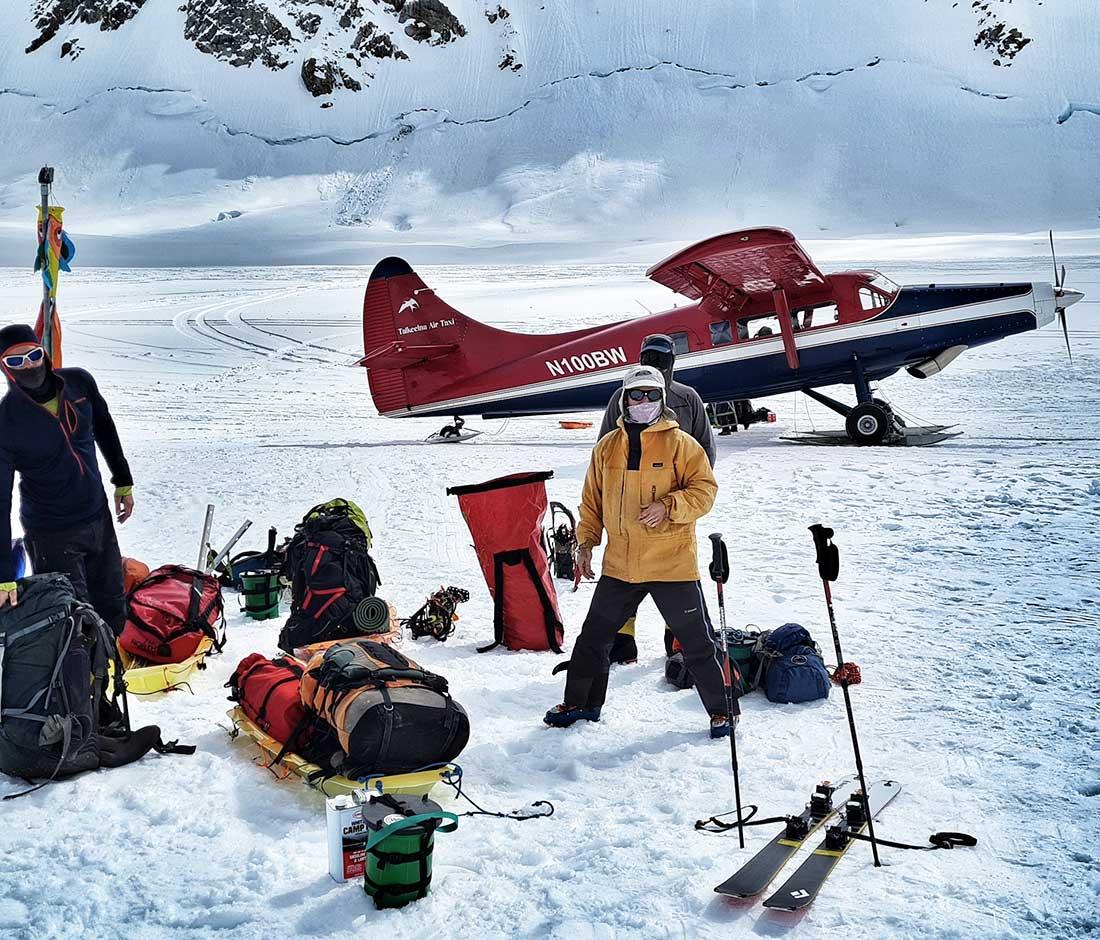 La inmensidad de Denali, la Seven Summit más cercana al Polo Norte.