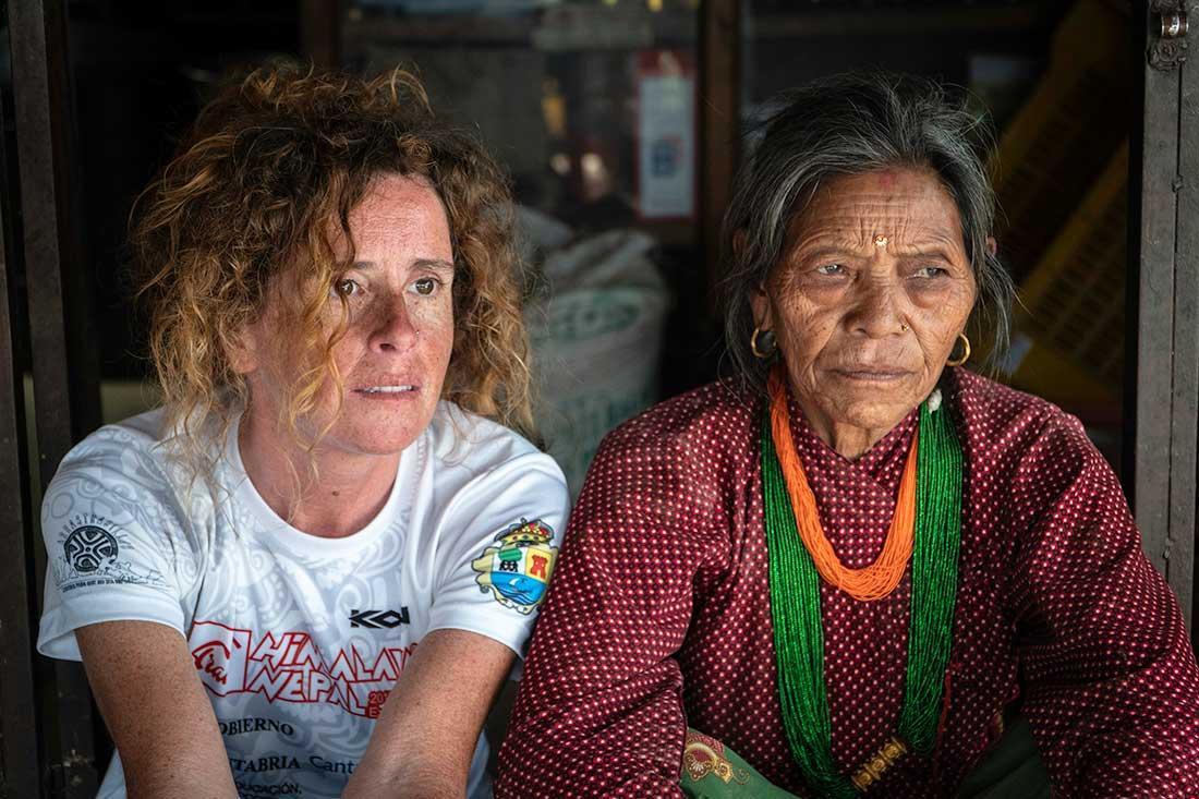 Raquel García pasó casi tres meses recorriendo aldeas y pequeños pueblos nepalíes.