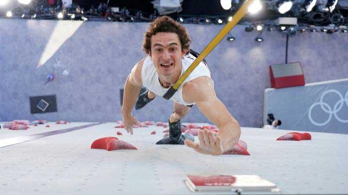 El checo Adam Ondra no pudo ganar ninguna medalla. (Ph Tsuyoshi Ueda Pool via AP)