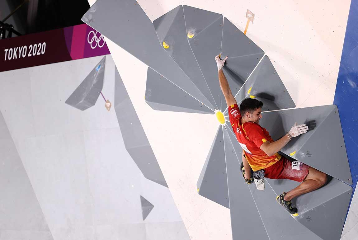 Primera participación de la escalada como deporte olímpico en los Juegos de Tokio. (Ph Twitter)
