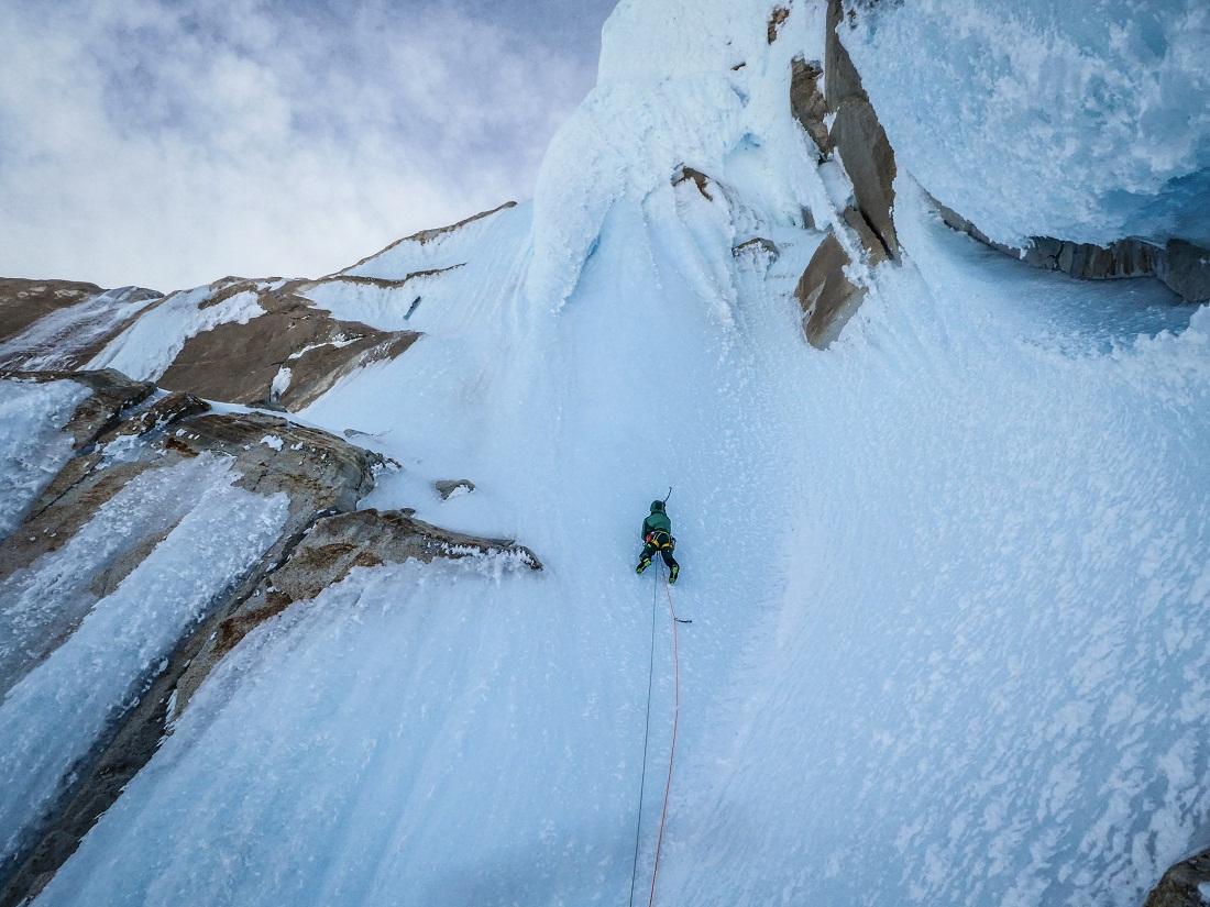 Cerro Torre, via dei Ragni.