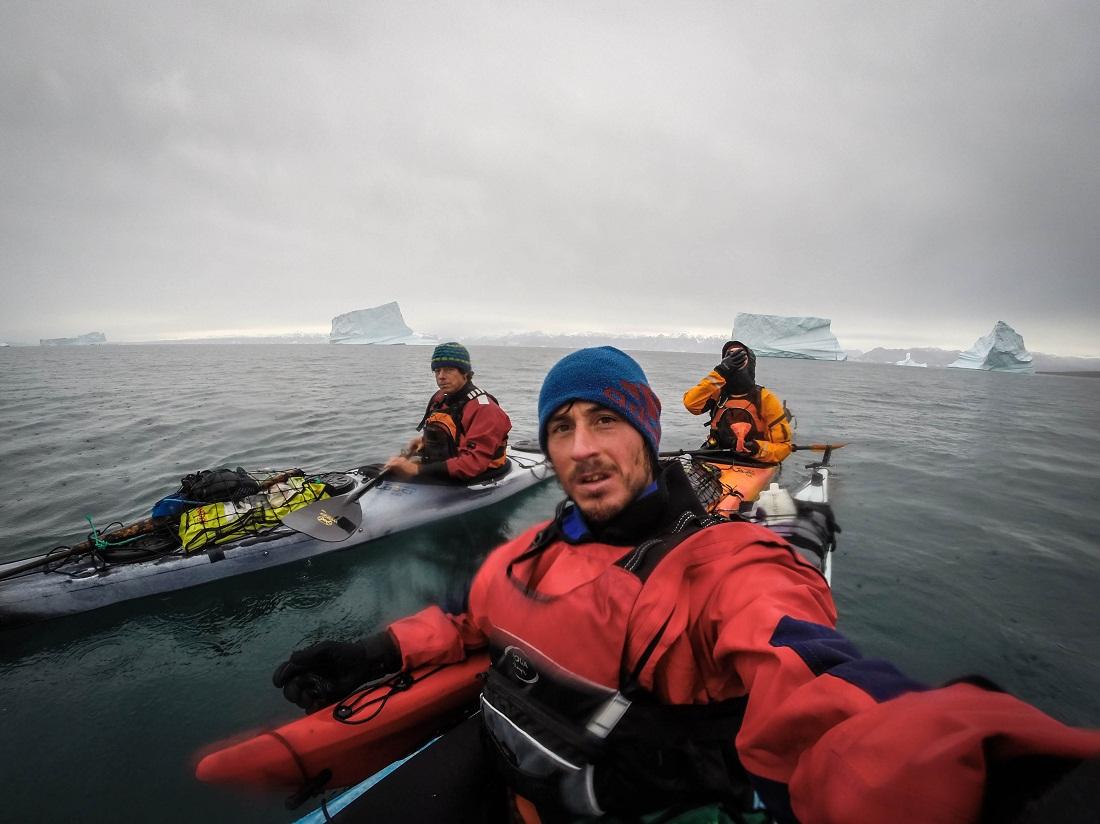 En Groenlandia, compartió aventura con los belgas Niacolas Favresse y Sean Villanueva.